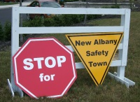 Stop For New Albany Safety Town